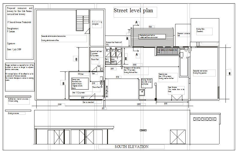 Dewside - Street Level plan