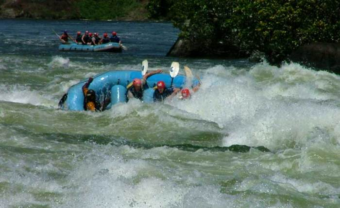 Get an adrenaline shot whitewater rafting on the Nile+Uganda+travel_with+Kwez+Outdoors