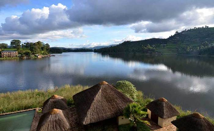 Lake Bunyonyi in southwestern highlands+Uganda+travel_with+Kwez+Outdoors