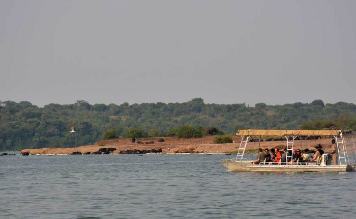 Plenty to see on a water safari on Kazinga Channel+Uganda+travel_with+Kwezi+Outdoors