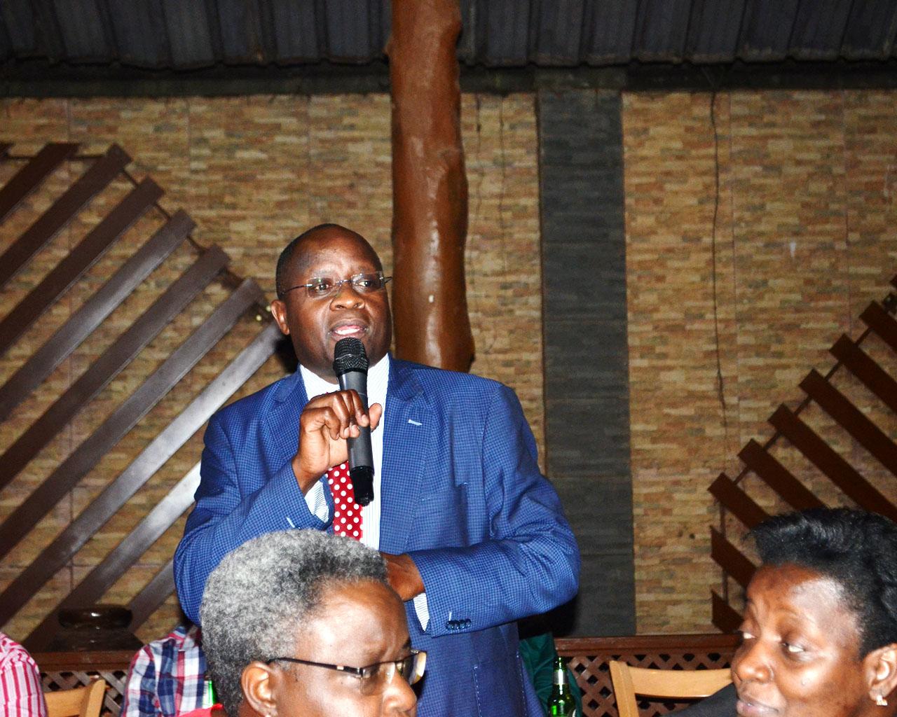 Dr. Samson Kironde