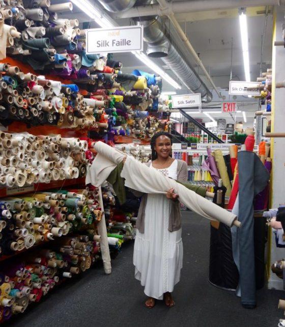 Mood Fabrics - KWhite Collection