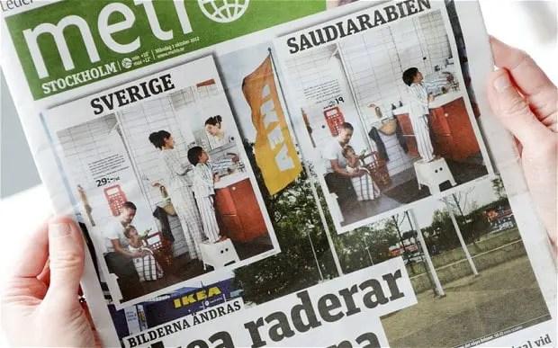 Ikeas Saudi Localization Backfires In Sweden