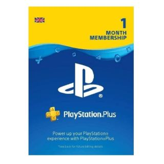 PS+ UK 1 MONTH