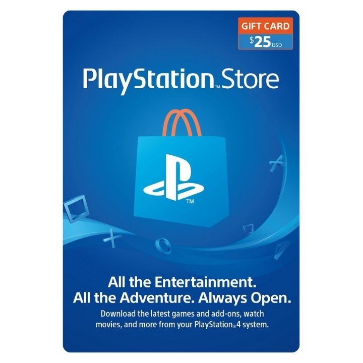 $25 PlayStation US Store Gift Card [Digital Code]