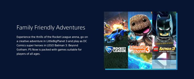 PLAYSTATION NOW - 12 MONTH SUBSCRIPTION (USA)