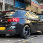 Bmw F20 120i 18 Bmw M Performance Wheels 719m Jet Black 國華膠輪kwok Wah Tyre Hk