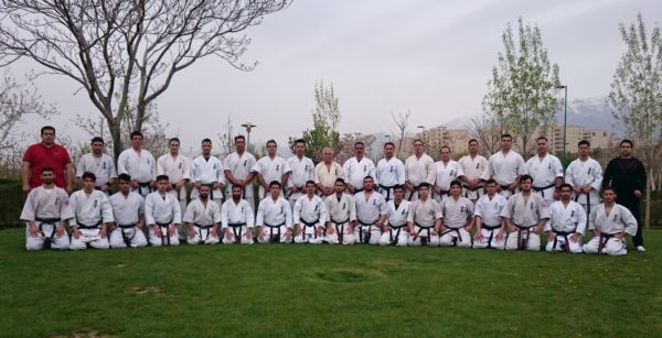 KWF Iran training session