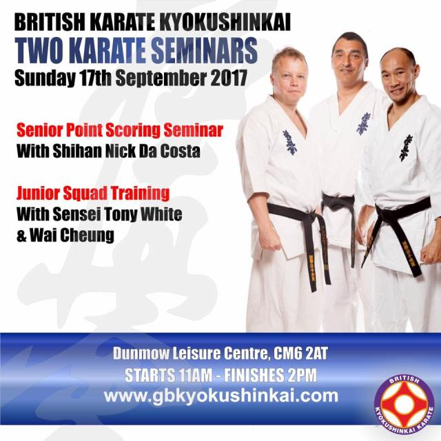 two karate seminars