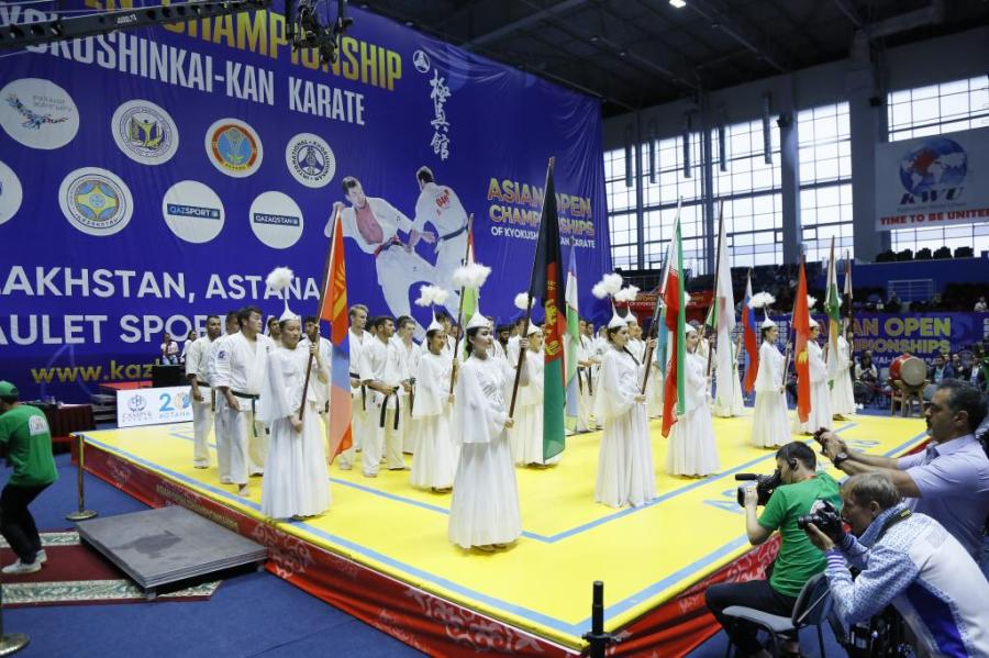 Asian Open Championship 2018 RESULTS