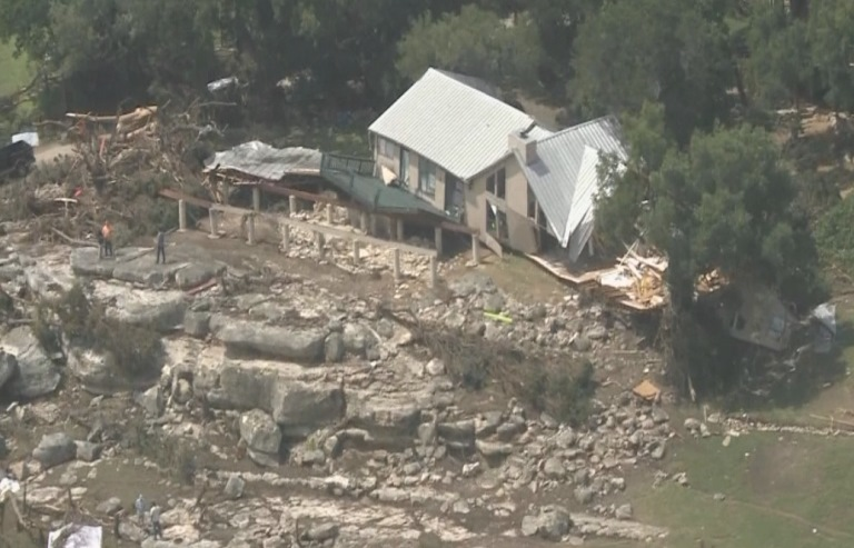 Aerial Video of Wimberley Damage_126359