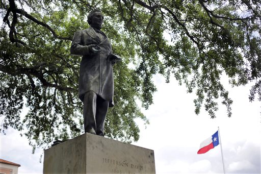 Confederate Symbols Davis Statue_119917