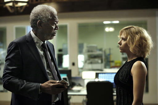 Morgan Freeman, Scarlett Johansson_249714