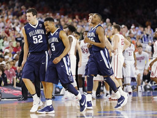 NCAA Villanova Oklahoma Final Four Basketball_266203