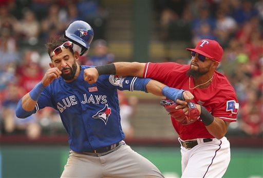 APTOPIX Blue Jays Rangers Baseball_286642