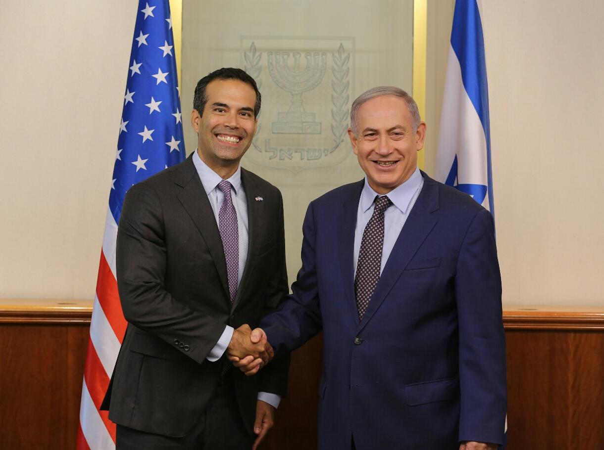 George P Bush Israel Visit_337957