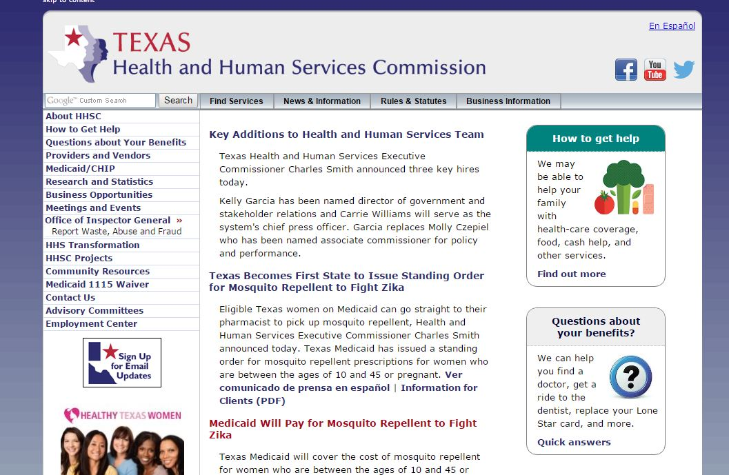 Texas Health and Human Services begins massive department