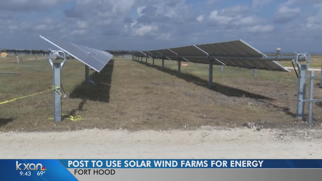 Fort Hood on its way to cleaner and cheaper energy