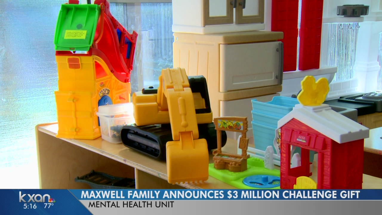 New mental health unit coming to Dell Children's, donations needed