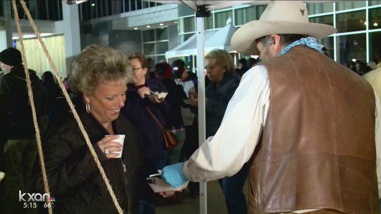 Supersized fun served at Rodeo Austin's Cowboy Breakfast