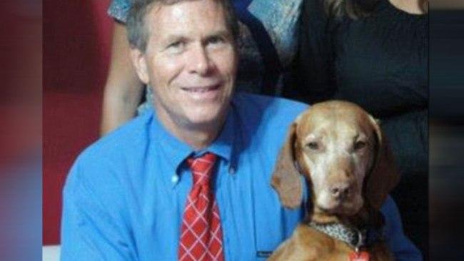 Michael Whalen with Allie (Facebook photo)_443007