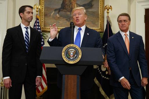 Donald Trump, Tom Cotton, David Perdue_518305