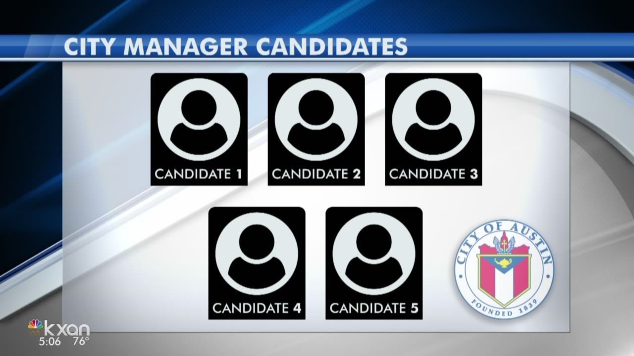 Austin won't release names of city manager candidates until the end of the month