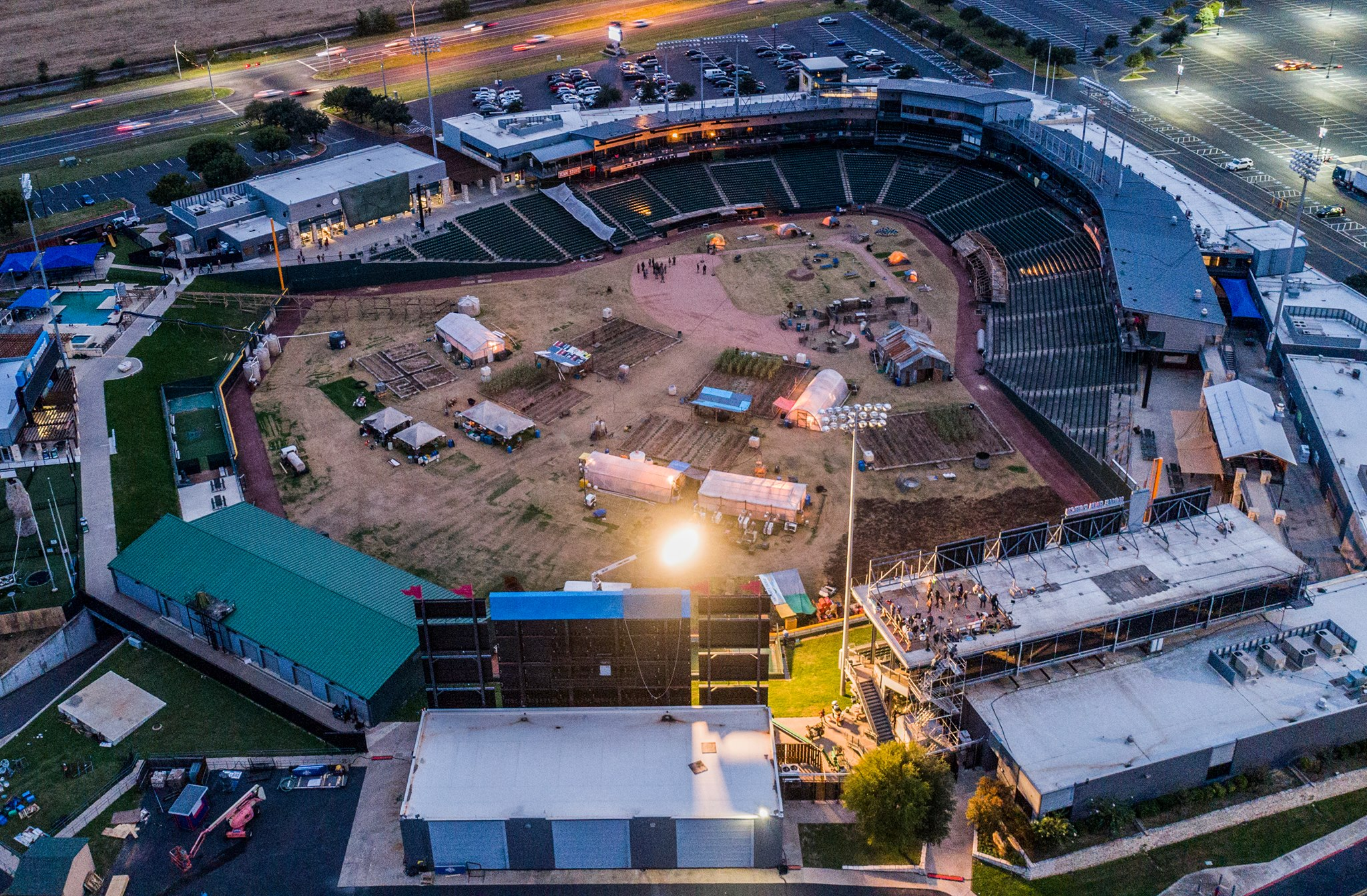 Film Production at Round Rock Express site_582504