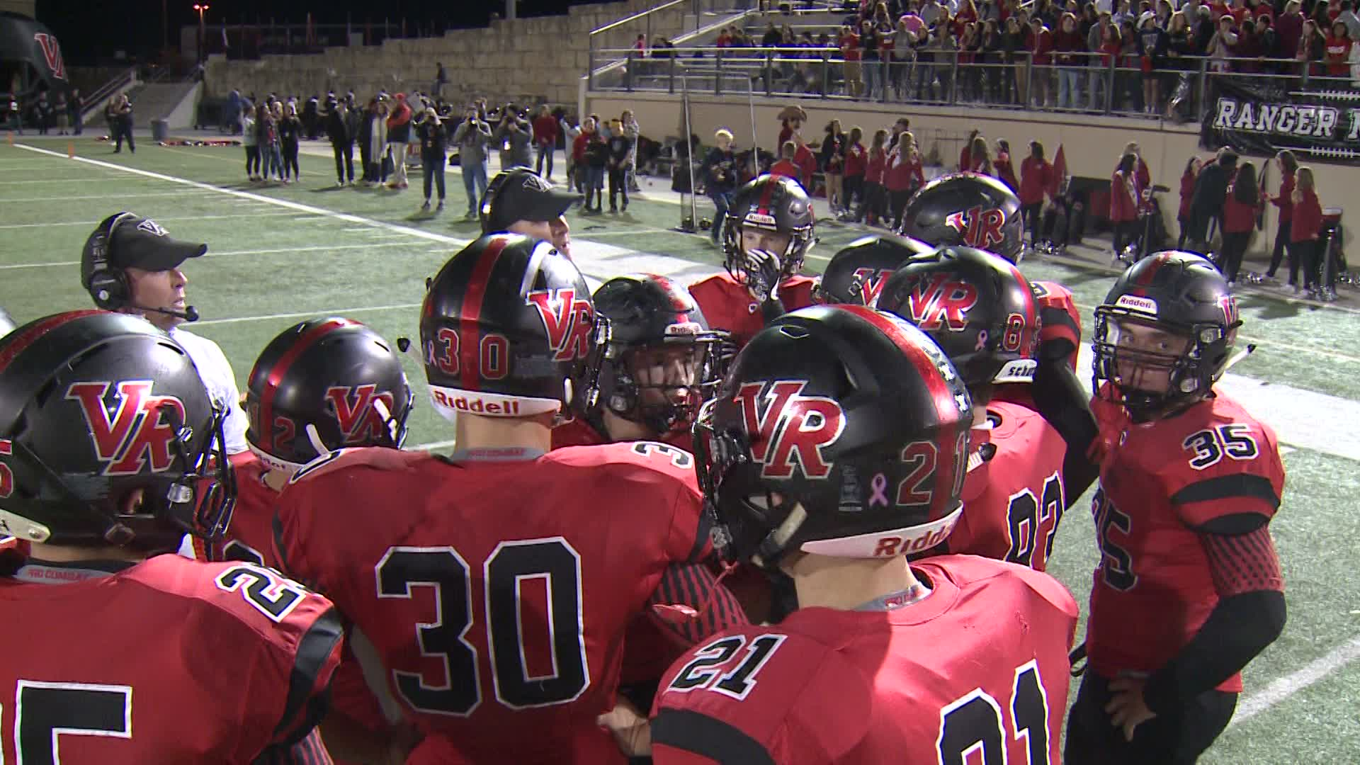 Westlake vs. Vista Ridge football (KXAN Photo)_579391