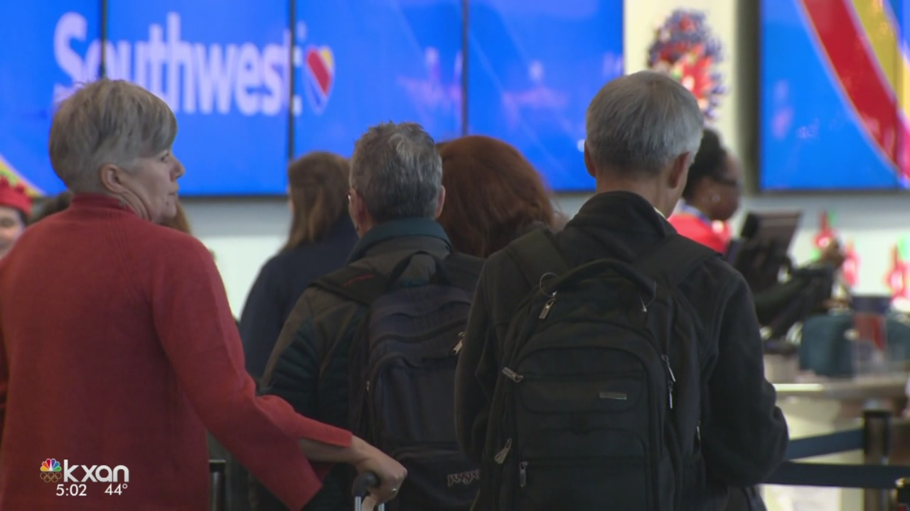 No major issues flying out of Austin airport on Friday before Christmas