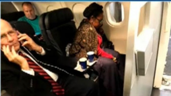 HIDDEN PIC Sheila Jackson Lee on flight_604057