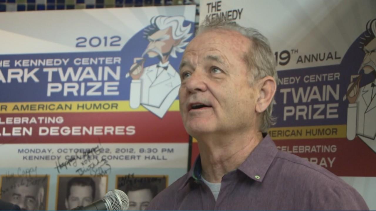 Bill Murray at UT