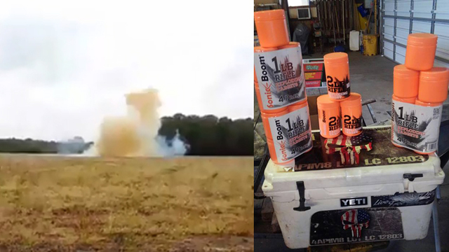 South Carolina man blows up Yeti