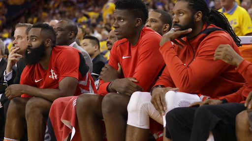 Rockets Warriors Basketball_1527037397664