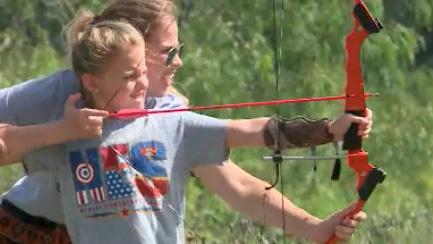 Archery camp YMCA camp moody