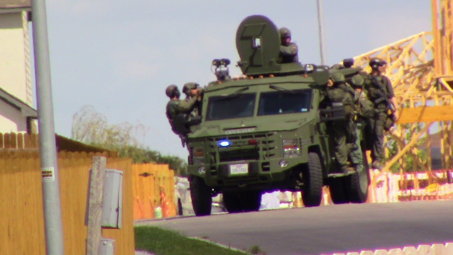 SWAT situation on Malta Circle in Round Rock ended peacefully on Aug. 30, 2018