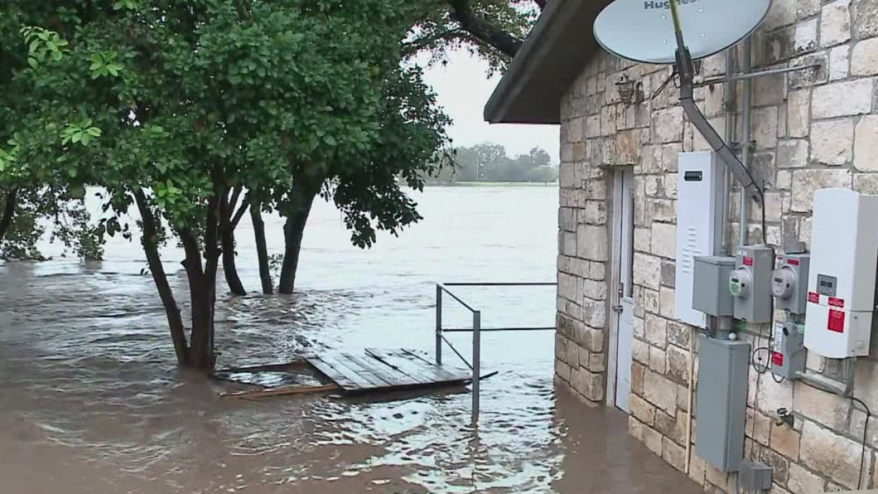 Residents in Marble Falls pushed out by rising flood waters