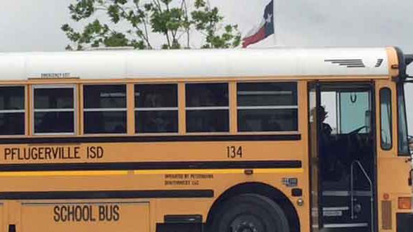 Pflugerville ISD bus file photo