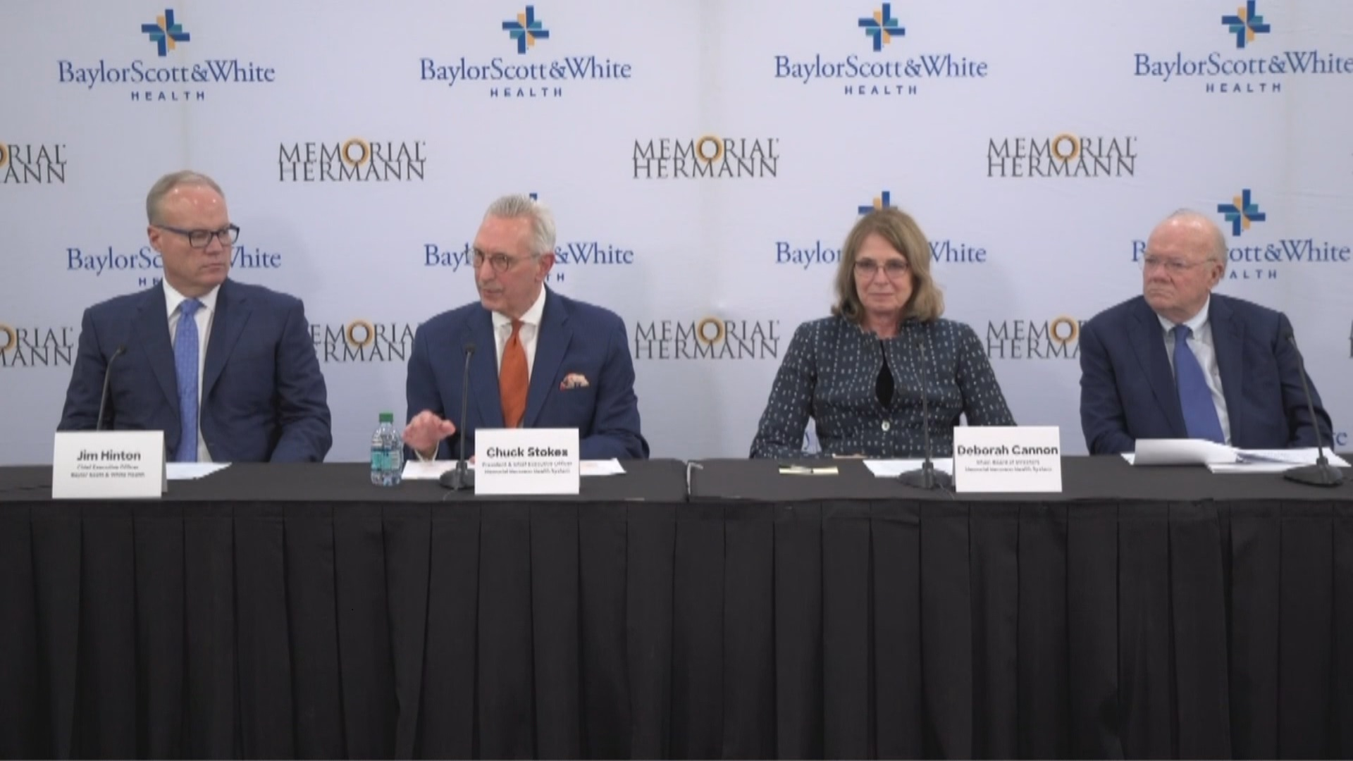 Officials announce merger of Baylor Scott & White and Memorial Hermann Health System