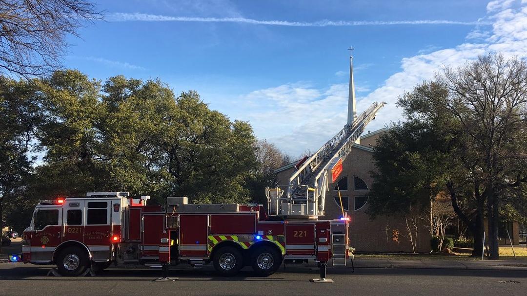 Church fire P ville