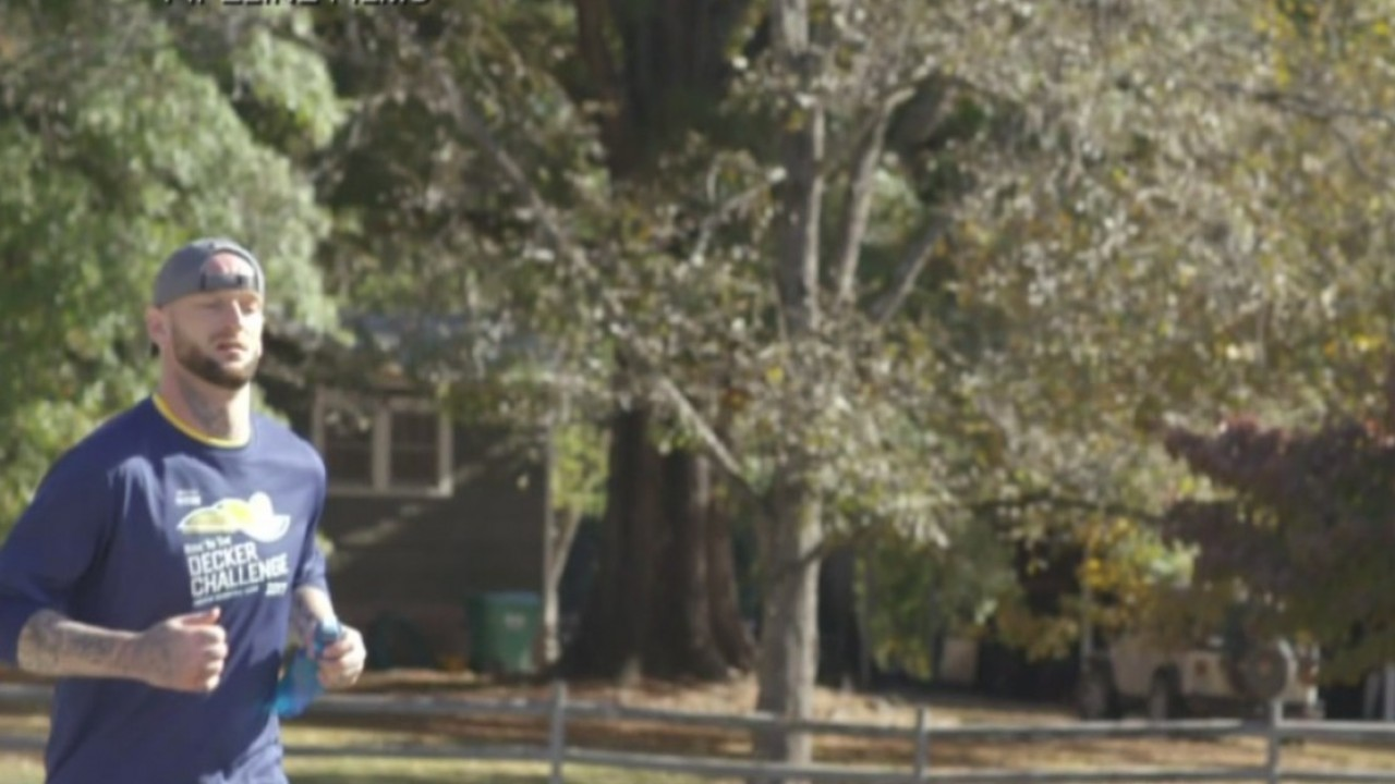 Army vet who struggled with addiction to run in race