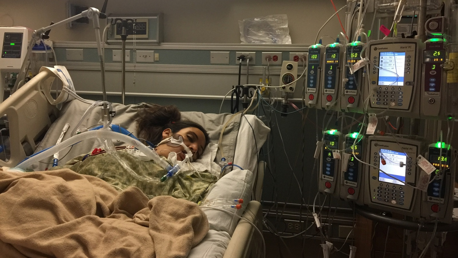 Leah Bahrencu hospitalized - mothers erased