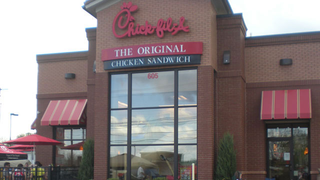 Chick-fil-A restaurant_293605