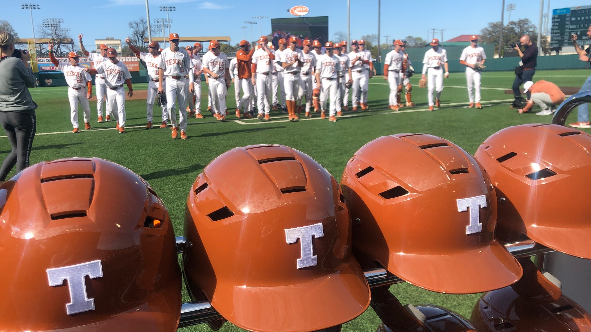 Longhorns baseball vs Tech 2019