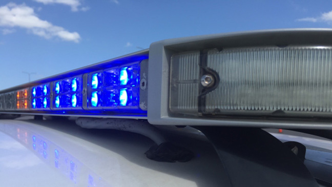 FILE - Police lights blue (KXAN File Photo)