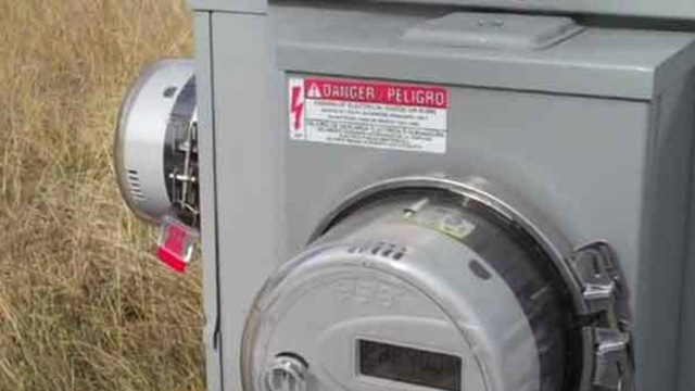 Utilities meter energy bill power file photo