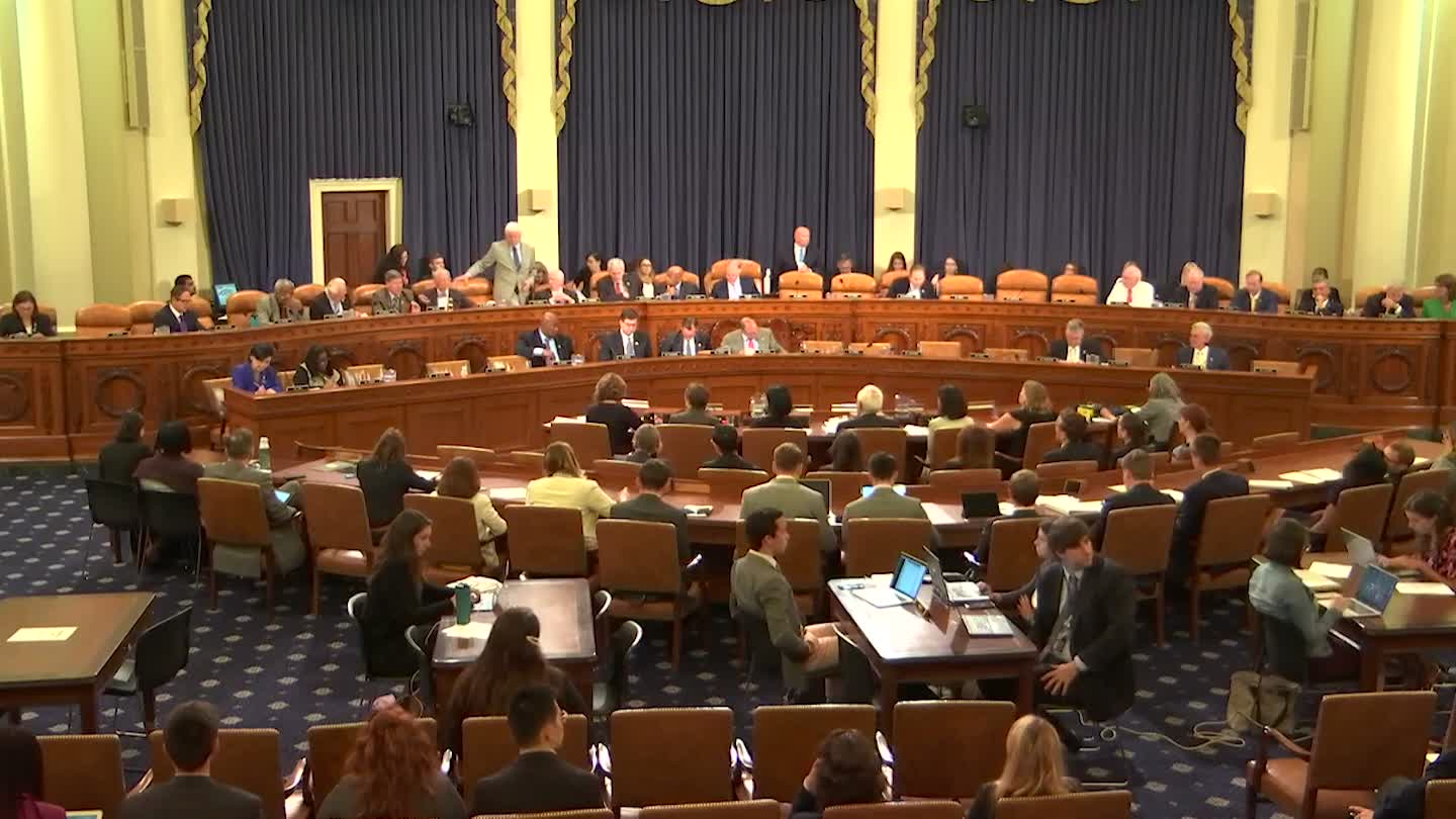 House Ways and Means Committee 61719