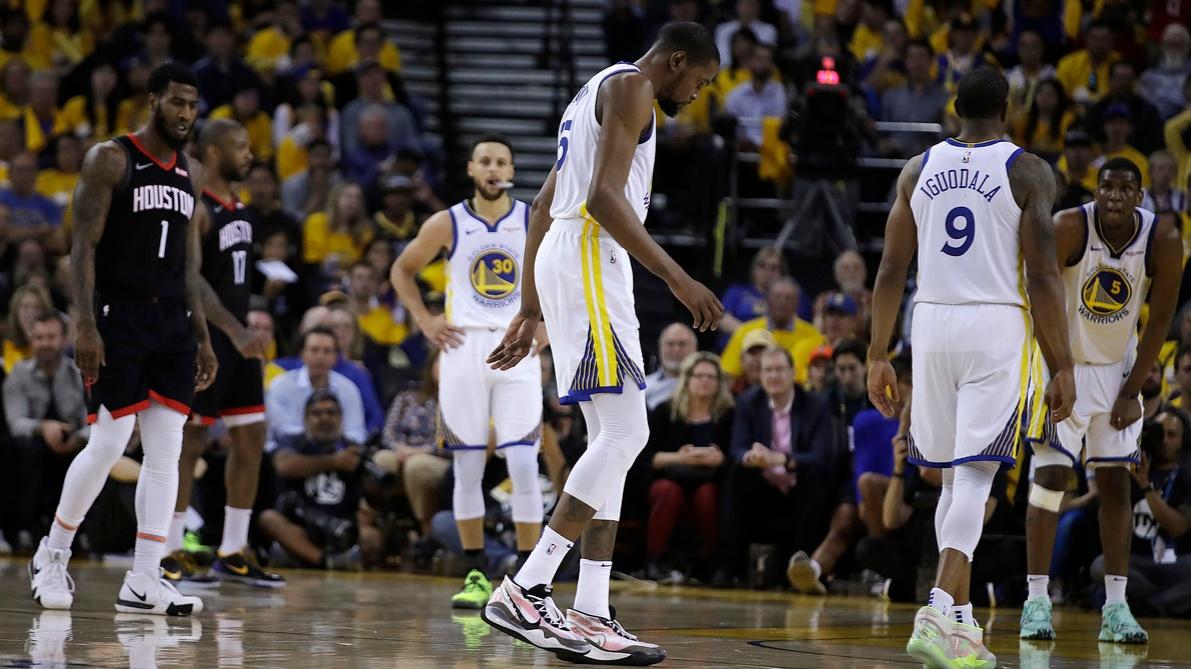 Rockets Warriors Basketball_1559679993620