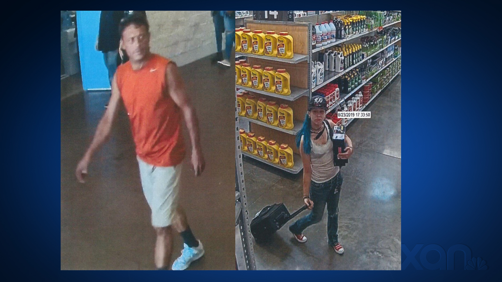 AFD asking for help identifying suspects accused of setting