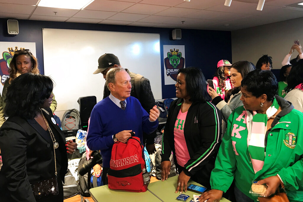 Election 2020 Michael Bloomberg Super Tuesday